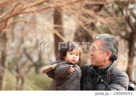 祖父と孫(2才1カ月) 28089041