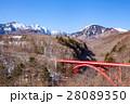 冬の東沢大橋、八ヶ岳 28089350