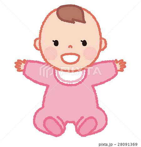 赤ちゃん(女の子) 28091369