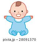 赤ちゃん 男の子 人物のイラスト 28091370