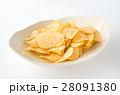 ポテトチップス スナック お菓子 ジャンクフード 塩味 28091380