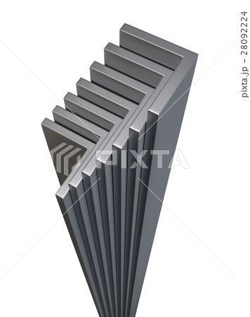 rolled metal l barのイラスト素材 28092224 pixta