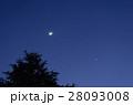 月と金星と火星 28093008