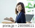 女性 ビジネス ビジネスウーマンの写真 28098611