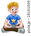 ゲーム テレビゲーム 子供のイラスト 28101009