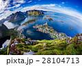 ノルウェー ローフォテン 浮かぶ島の写真 28104713