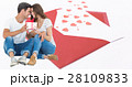 Digital composite of loving couple 28109833