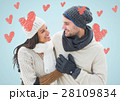 Digital composite of loving couple 28109834