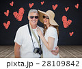 Digital composite of loving couple 28109842
