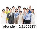 働く人々 ビジネス 職業の写真 28109955