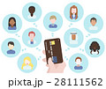 グローバル 世界 クレジットカードのイラスト 28111562