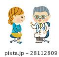 診察する医者 28112809