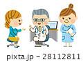 診察する医者 28112811