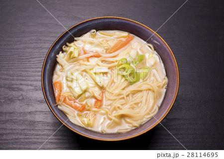 どんぶりの野菜ラーメン 28114695