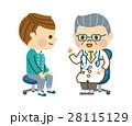 診察する医者 28115129