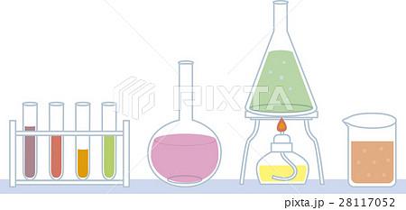 科学の実験道具のイラスト素材 28117052 Pixta