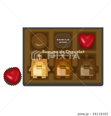 スズメロボチョコレート 28118165