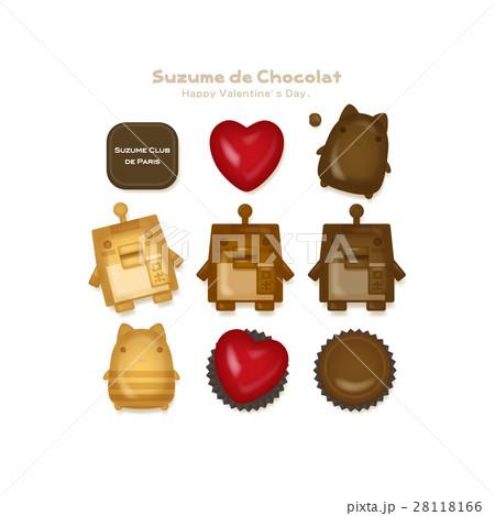 スズメロボチョコレート 28118166