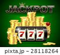 スロット 賞金 ジャックポットのイラスト 28118264