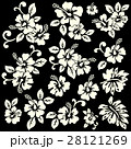 花 花柄 ハイビスカスのイラスト 28121269