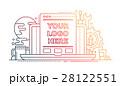 デザイン 柄 記号のイラスト 28122551