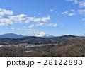 富士山 雪化粧 山の写真 28122880