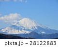 富士山 雪化粧 山の写真 28122883