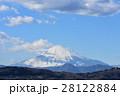 富士山 雪化粧 山の写真 28122884