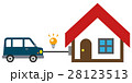 EV 自動車 V2Hのイラスト 28123513