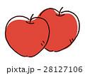 りんご 林檎 フルーツのイラスト 28127106