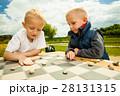 ゲーム 試合 チェッカーの写真 28131315