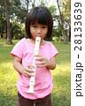 子 子供 笛の写真 28133639