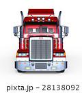 トレーラー 車両 セミトレーラーのイラスト 28138092