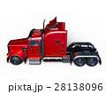 トレーラー 車両 セミトレーラーのイラスト 28138096