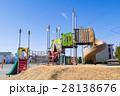 遊具 公園 滑り台の写真 28138676