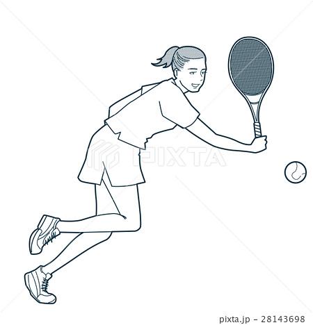 テニス 28143698