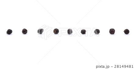pepper corn on white backgroundの写真素材 [28149481] - PIXTA