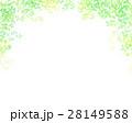 木漏れ日 葉っぱ フレームのイラスト 28149588
