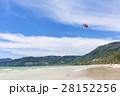 海 ビーチ パラシュートの写真 28152256