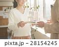 マイホーム 夫婦 住宅模型の写真 28154245