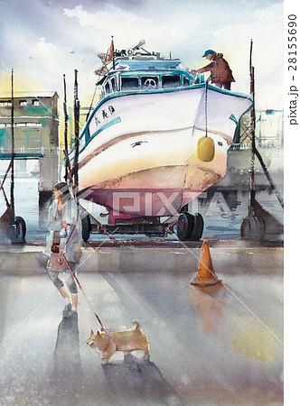 漁船の休日 28155690