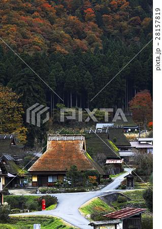 11月 美山町「かやぶきの里」 京都の原風景  28157819