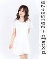 若い女性 ファッション ポートレート 28159478