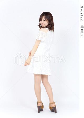 若い女性 ファッション ポートレート 28159481