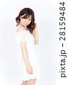 若い女性 ファッション ポートレート 28159484