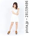 若い女性 ファッション ポートレート 28159486