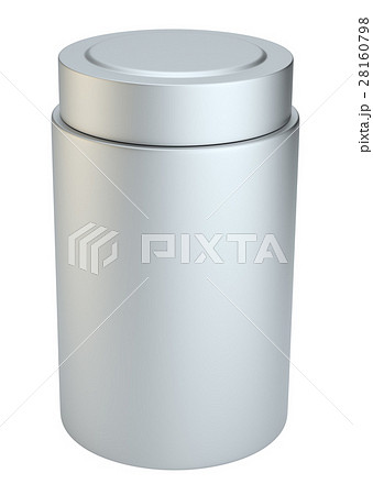 Silver cream bottle packageのイラスト素材 [28160798] - PIXTA