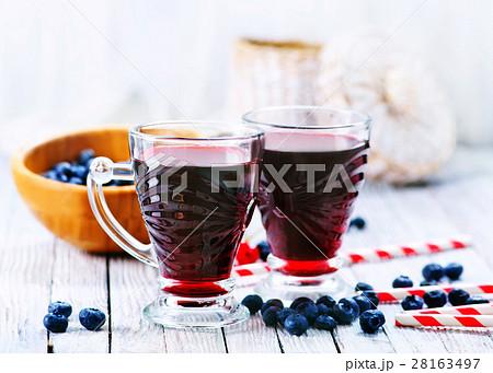 blueberry juiceの写真素材 [28163497] - PIXTA