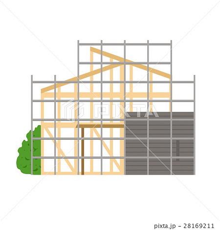 建築中の家イメージ 28169211