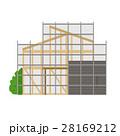 家 建築 建築中のイラスト 28169212